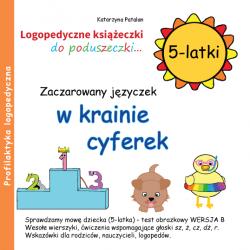 Książeczki logopedyczne - Zaczarowany języczek w krainie cyferek