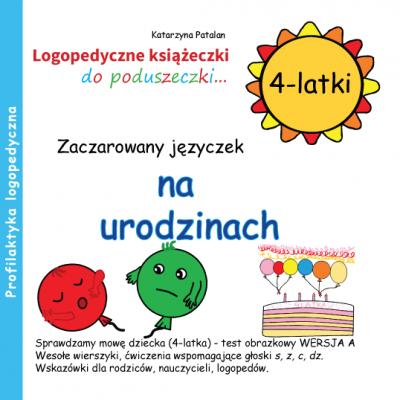 Książeczki logopedyczne - Zaczarowany języczek na urodzinach
