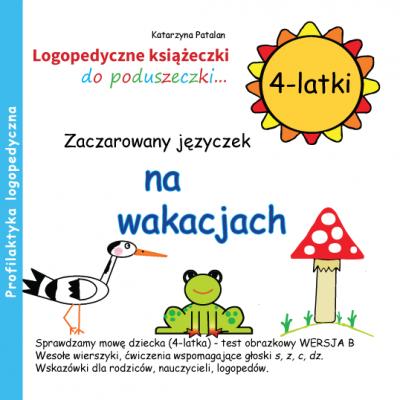 Książeczki logopedyczne - Zaczarowany języczek na wakacjach