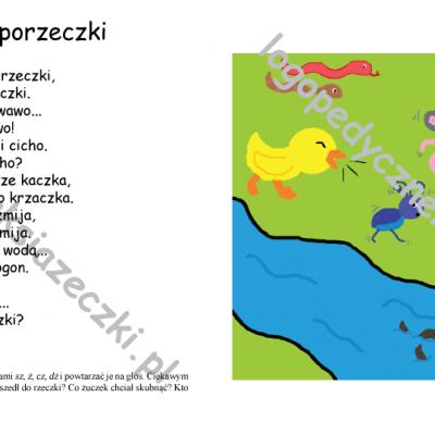 Książeczki logopedyczne - Zaczarowany języczek w krainie literek