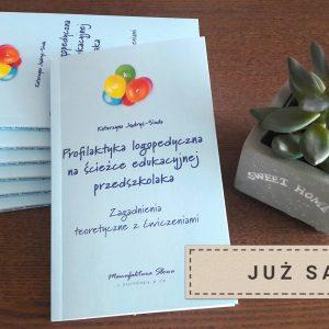 Okładka książki profilaktyka logopedyczna
